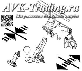 Фаркоп Thule 564400 для Kia Sorento 2012- быстросъёмный с крюком-автоматом BMA