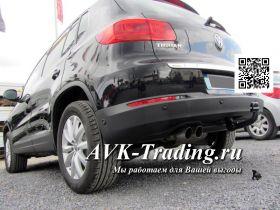 Фаркоп Westfalia 305423600001 для Volkswagen Tiguan (2007-2016), Audi Q3 (2011-), быстросъёмный вертикальный крюк A40V